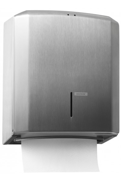 Katrin Hand Towel M Dispenser - Steel