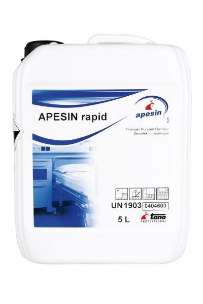 Apesin Rapid 5L. desinfeksjon