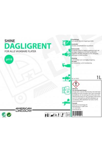 Shine Dagligrent